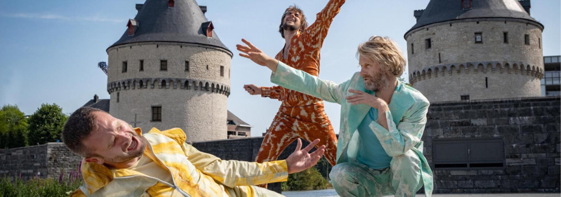 Dansers in Kortrijk